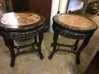 Japanese side tables