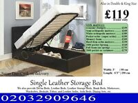 Storage Leather Bedding Frame Single also have double and king Homestead