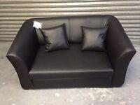Kenster black sofa bed new