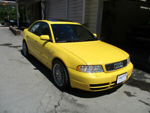 2001 Audi S4 6-speed - Very clean & well maintained.