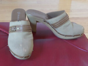 Used ladies shoes, sandals, boots, size 10, $5 each pair Sarnia Sarnia Area image 1