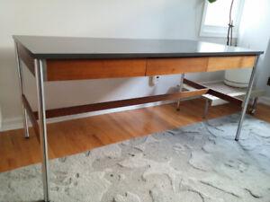 Mid-century modern desk from Canadian designer and manufacturer!