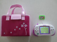 Pink Leapster Explorer with Carrying Case and Games