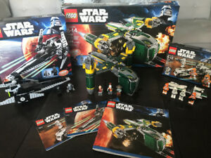 Star Wars Lego sets - 7930,  7915, and 7913.