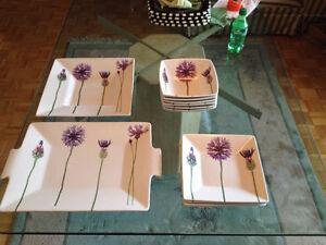 Set de Vaisselle ** Skye McGhie, Stems **  Set of Dishes