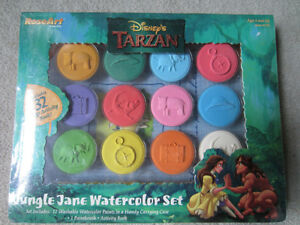 BRAND NEW - DISNEY'S TARZAN WATERCOLOR SET