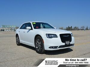 2016 Chrysler 300 S AWD w/Panoramic Sunroof  AWD w/Sunroof