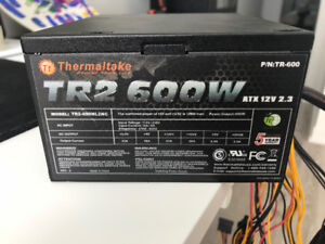 Thermaltake 600w Power supply