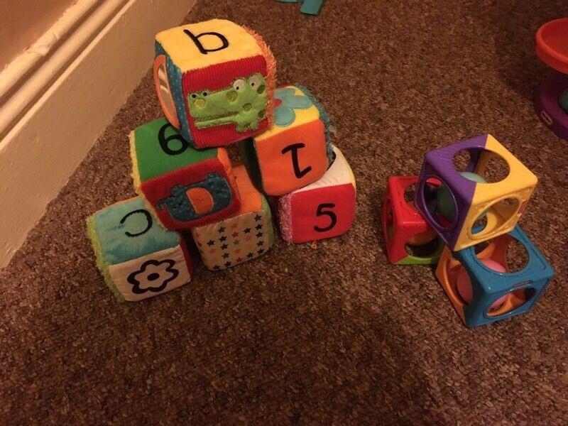 Baby toys/ blocks