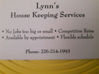 LYNN House Cleaning Services