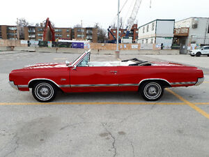 1965 OLDSMOBILE CUTLASS CONVERTIBLE