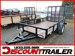 2019 Tube Top Trailer 6x10 2990#