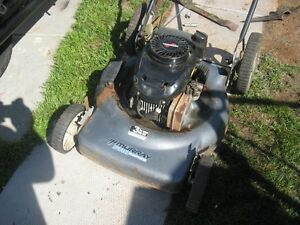 Gas Lawn Mower w Mulcher