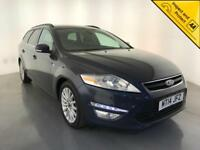 2014 FORD MONDEO ZETEC BUSINESS EDN TDCI DIESEL 1 OWNER SERVICE HISTORY FINANCE