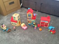 Happyland village set