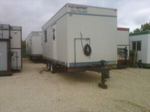 On the job office trailers/camps/labs for sale  Winnipeg