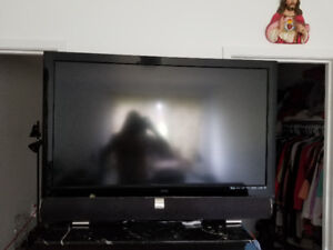 Vizio led 47 full hd with sound bar with woofer
