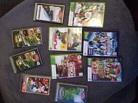 Xbox 360 and PSP games