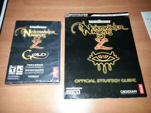 Neverwinter Nights 2 Gold *NEW Sealed with Bradly guide