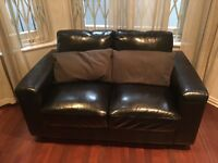 Leather sofa - bargain!!