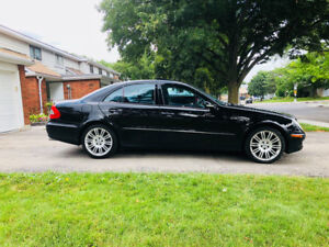 Mercedes benz E550 4 matic