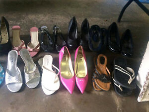 Lot of womens shoes!