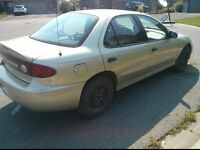 2003 Chevrolet Cavalier, Auto Tran., A/C,  Low KMs, One Owner