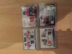 Oiler patch and auto cards