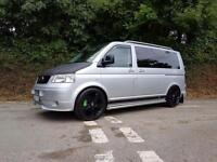 2004 54 VOLKSWAGEN TRANSPORTER/CARAVELLE T5 1.9 TDI THOUSANDS SPENT IMMACULATE