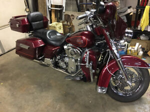 Supercharged Harley Electra Glide Classic