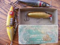 Cash !! Cash Paid For Your Old Fishing Lures, Tackle, Decoys,,,