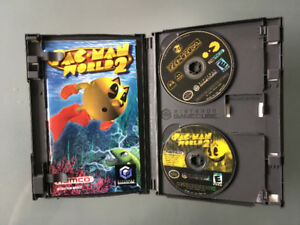 GameCube with Pac-Man world two