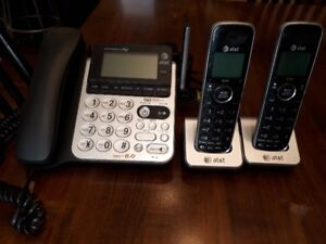 Used AT&T Corded/Cordless Phone System - price drop