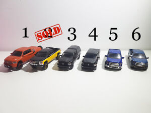 1/64 scale diecast miniature model truck car