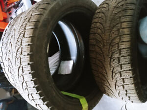 Pirelli hiver 245/45r19 et. 275/40r19