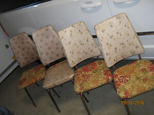 Vintage Acme Chrome Furniture 1965 Limited Dining Chairs