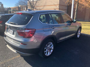 BMW X3 2013 fully loaded 2.8L