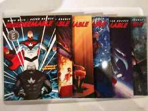 Irredeemable comic book graphic novel series volumes 1-6