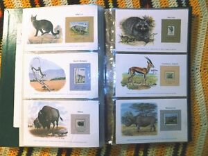 Animals of the World Stamp Collection - World Wildlife Fund