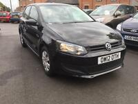 2012 Volkswagen Polo 1.2 S 5dr (a/c)