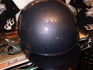 Helmet with the carbon fiber look-small-  recycledgear.ca