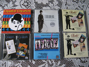 Charlie Chaplin, cd , dvd, tape