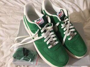Green/White Nike AF1 - size 12