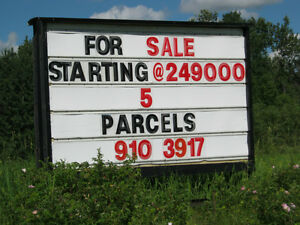 LAND For sale.5 LOTS LEFT.. INTERNET..POWER.STRATHCONA COUNTY