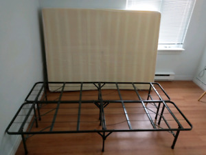 twin size folding bed rack moving sale