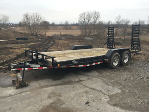 *NEW PRICE* Selling our 20' flat deck equipment trailer!