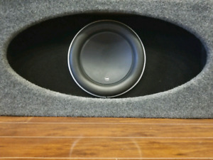 Jl audio 12 w7 in Anniversary edition high output box