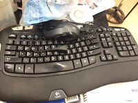 logitech wireless  keyboard with mouse!!!