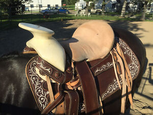 Selle western mexicaine