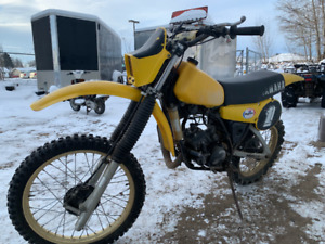 1981 YAMAHA YZ 125 PROJECT